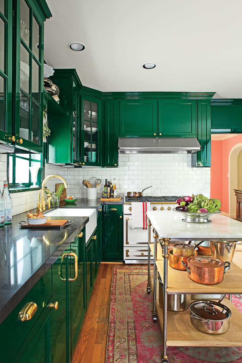After: Bold Redo Kitchen