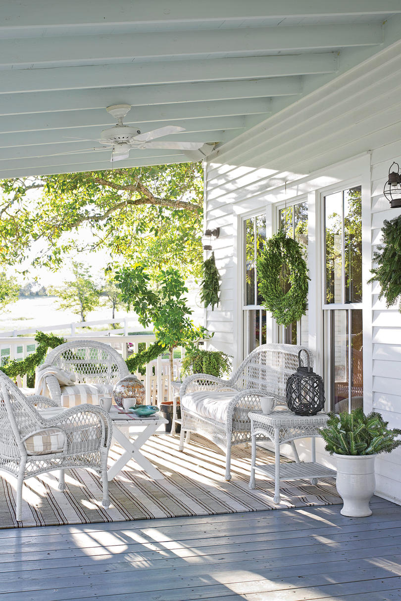 After: Charming Farmhouse Porch
