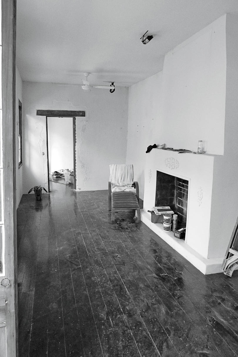 Before: Small Space Rescue Living Room
