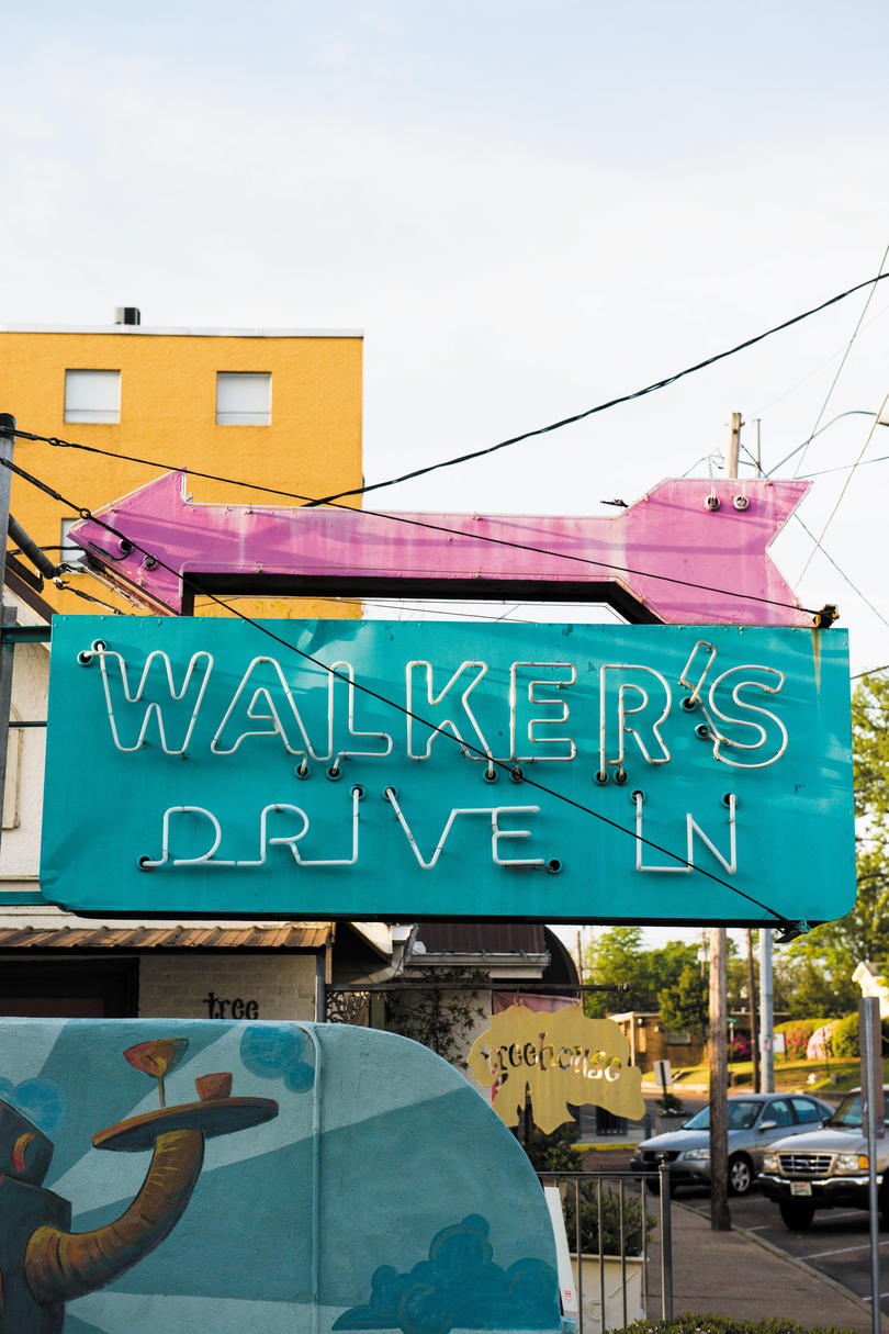Walker's Drive-In, Jackson, MS
