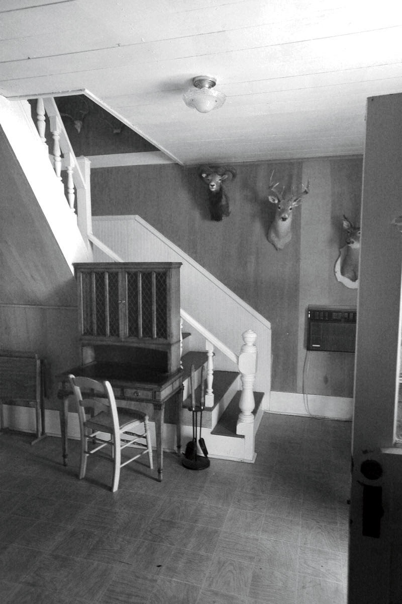 Before: Charming Farmhouse Stairway