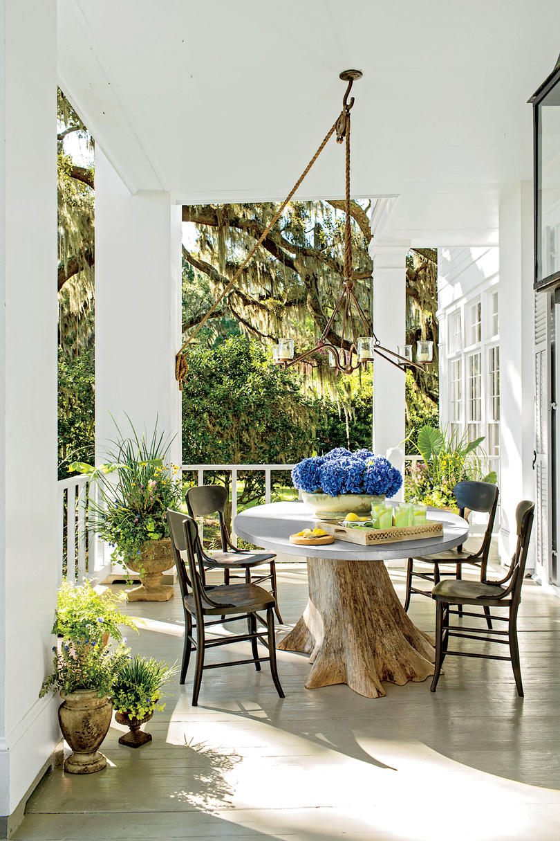 porch and patio design inspiration southern living coastal entertaining porch