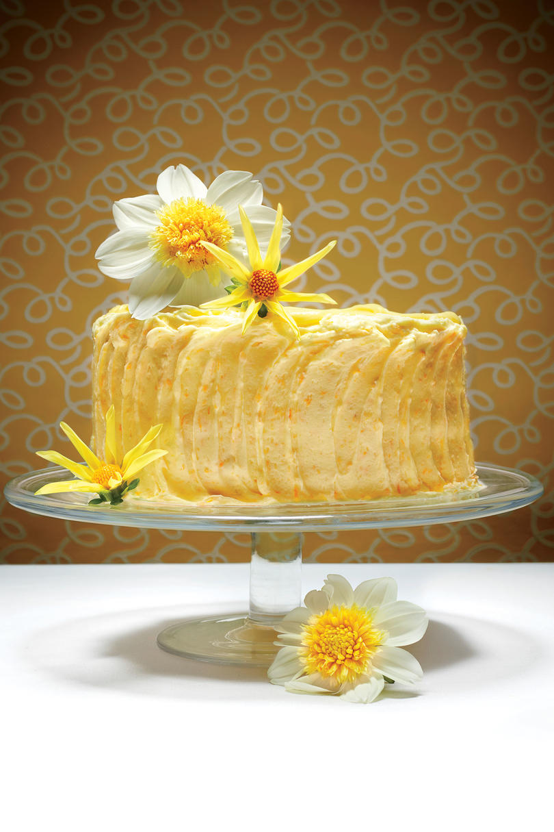 The Lemon Cheese Layer Cake