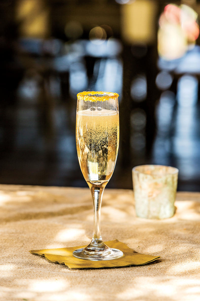 Signature Drink: The Golden Girl