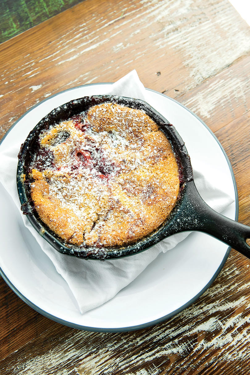 Kelly Fields Blackberry-and-Bourbon Cobbler