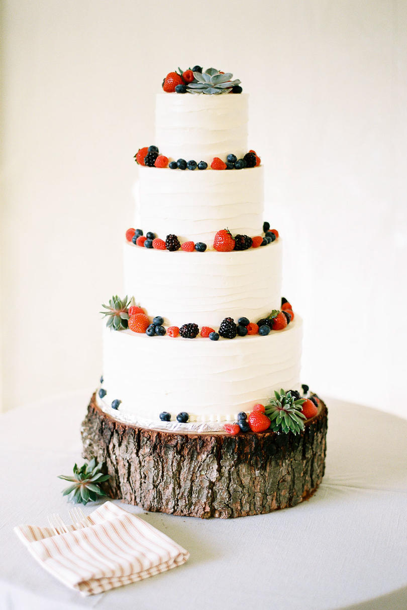 wedding cakes with fresh berries fresh fruit wedding cakes southern living 26030