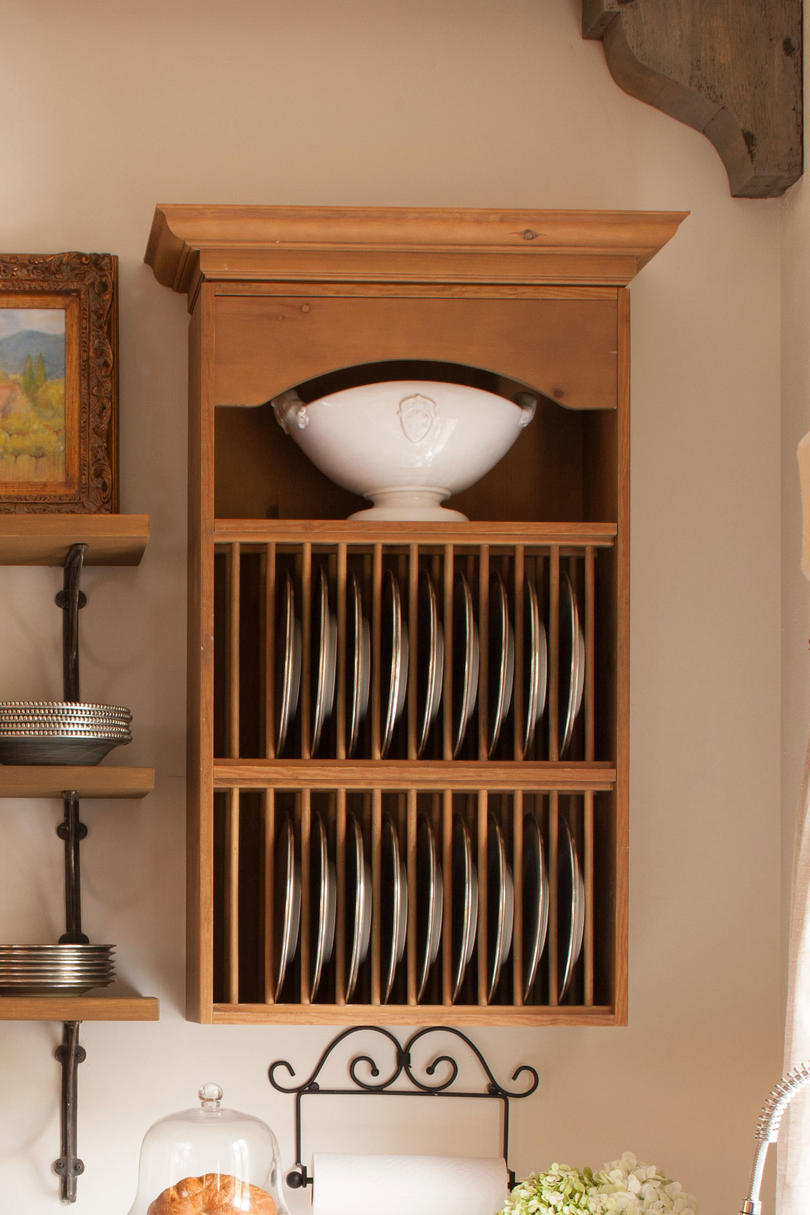 Vertical Plate Storage