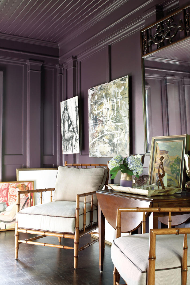 pink and purple decorating ideas - southern living