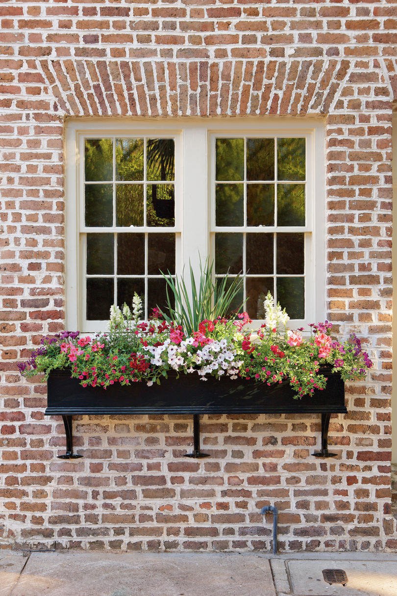 11 window box ideas and flowers to plant this season. Black Bedroom Furniture Sets. Home Design Ideas