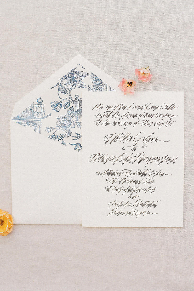Custom Handmade Invitations
