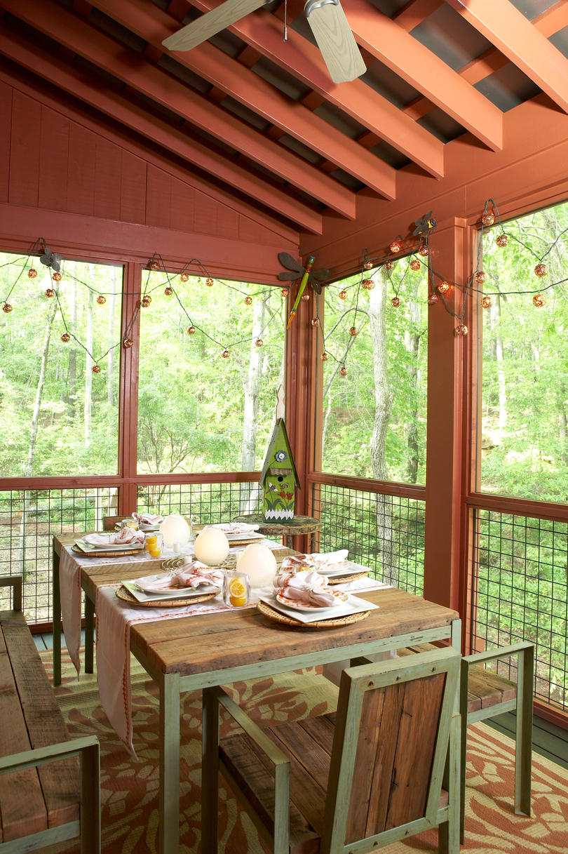 Spring Deck Decorating Ideas
