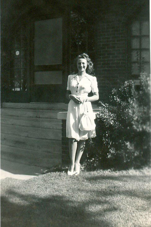 Catherine Couch Edwards, 1945 Midland, Texas