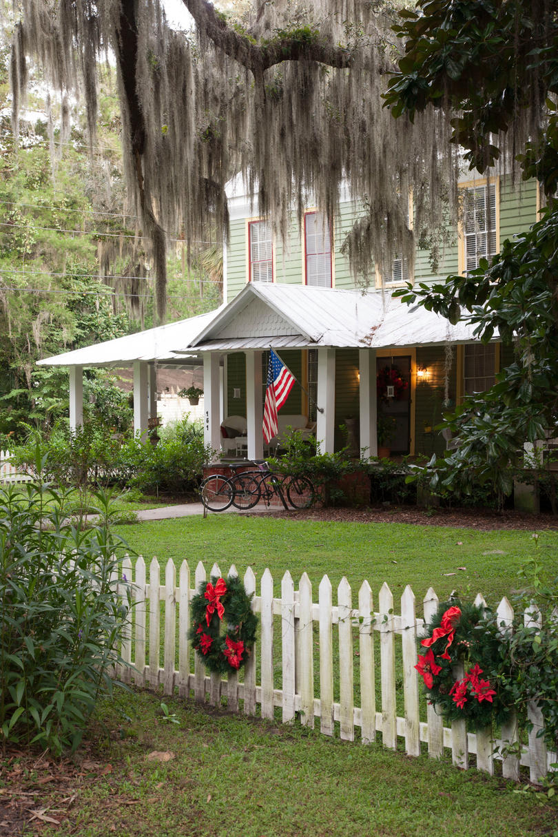Micanopy, Florida: Stewart-Merry House