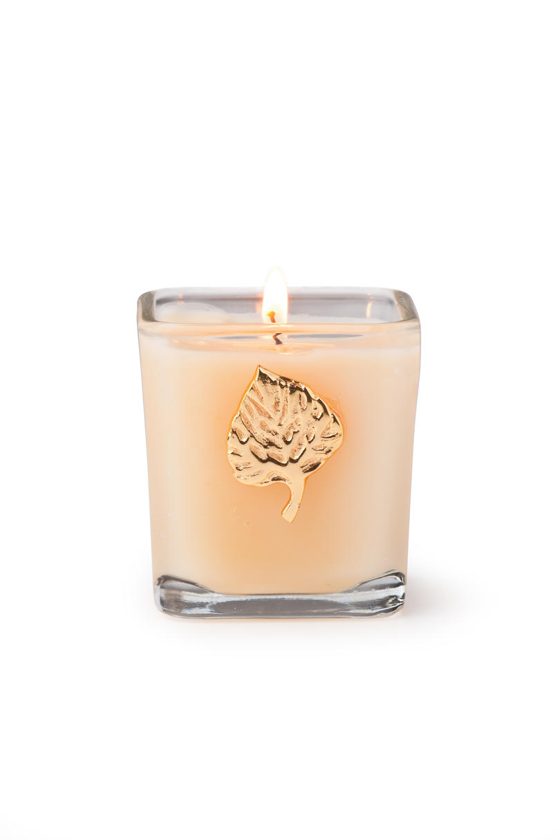 RX_1012 MBSH Gold Leaf Candle