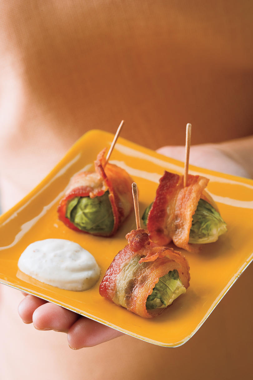 Bacon-Wrapped Brussels Sprouts