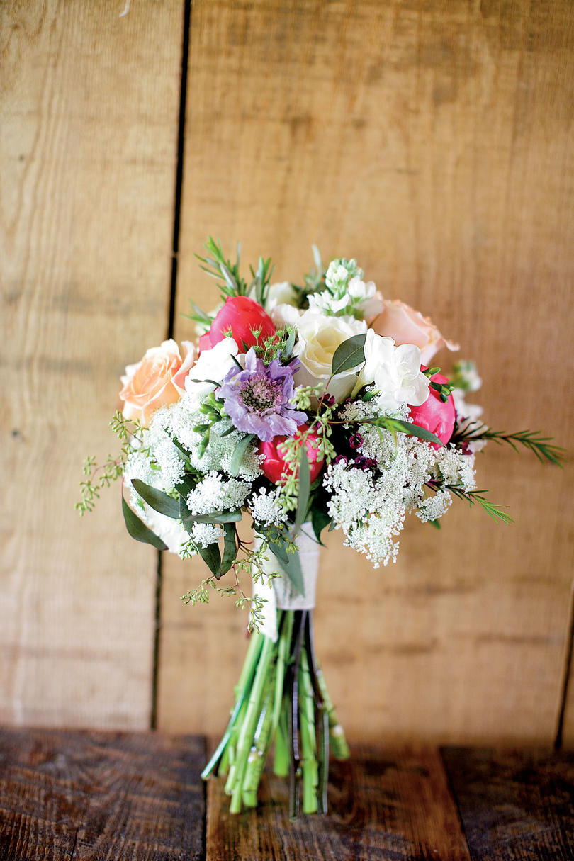 Herb and Wildflower Bouquet