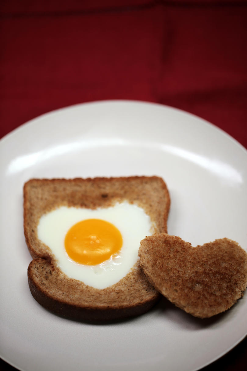 Valentine's Day Heart-in-a-Hole