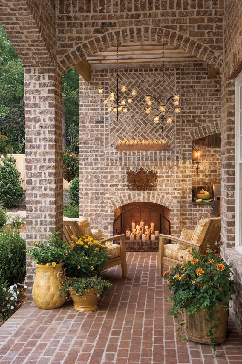 Candle-Lit Porch