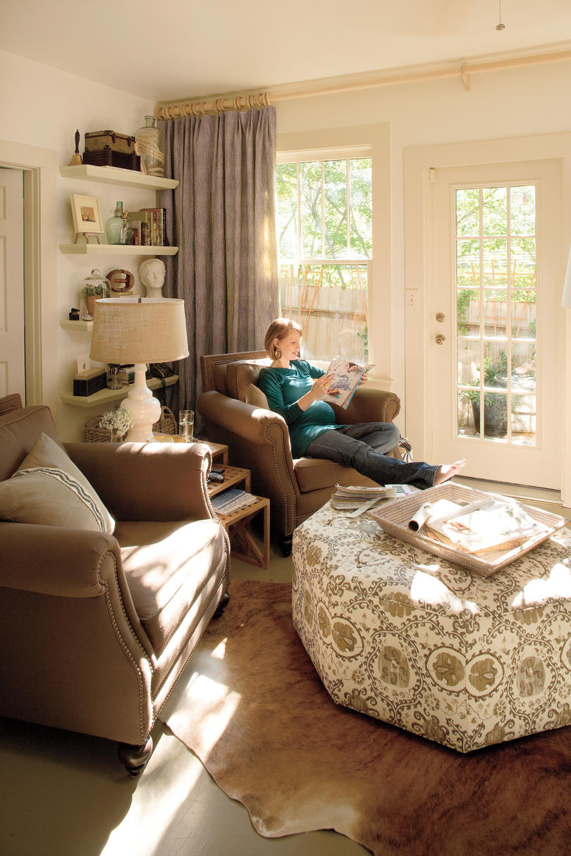 a living room redo with a personal touch decorating ideas rh southernliving com