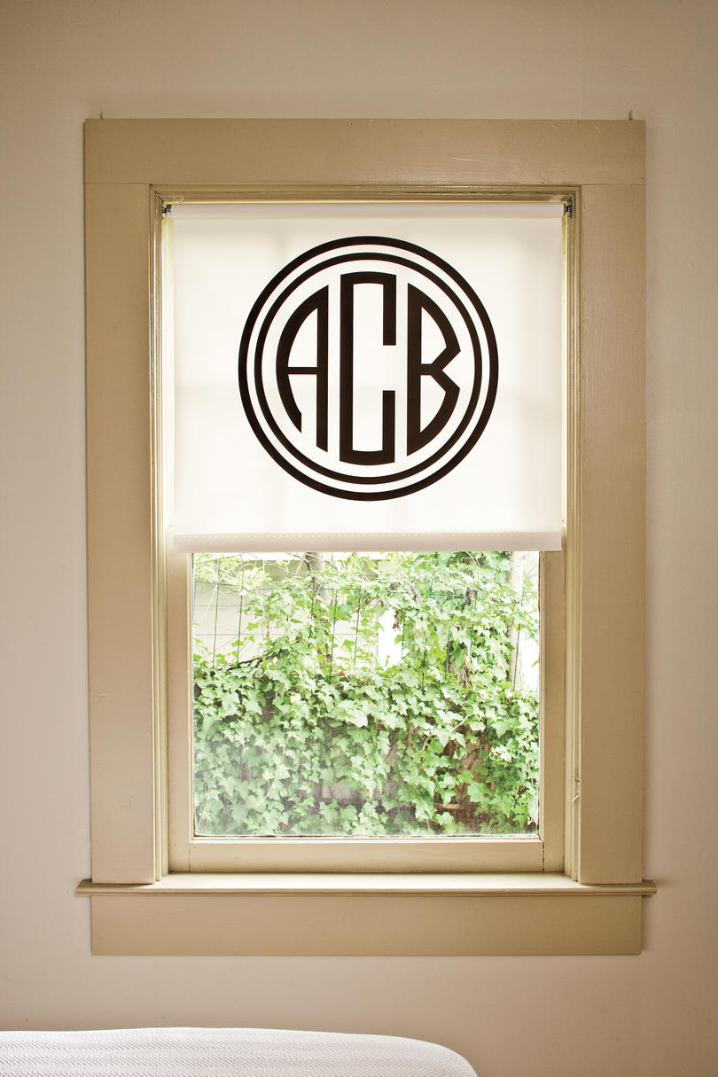 Window Designs: Stencil Shortcut