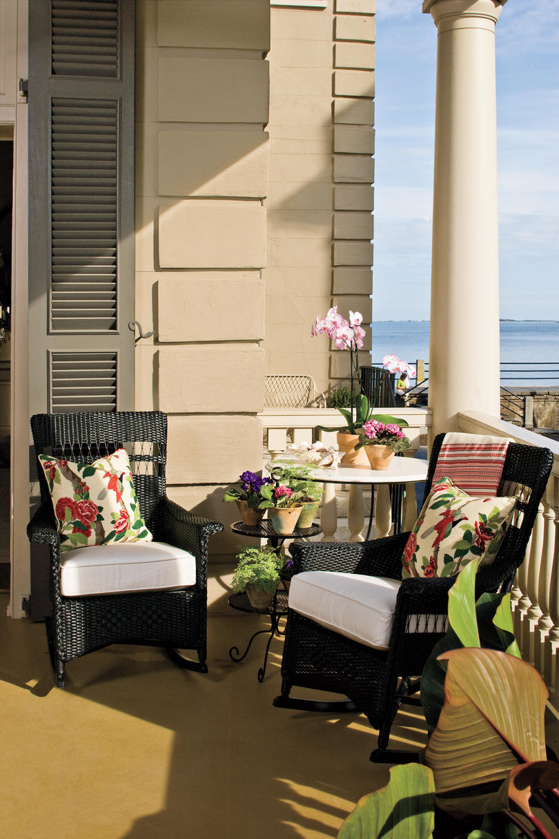 Charleston Home Piazza: Save A Spot For Yourself