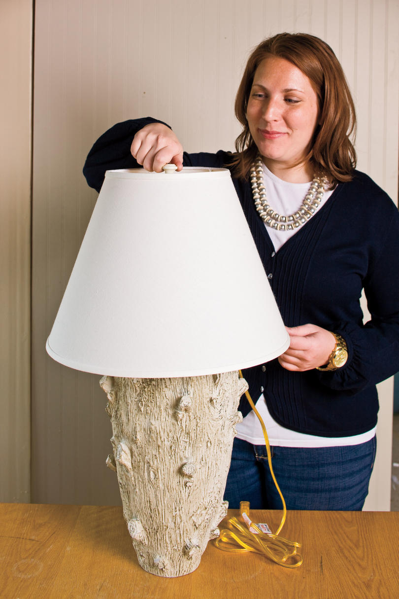 Do it yourself craft table lamp southern living do it yourself table lamp craft finish the look reviewsmspy