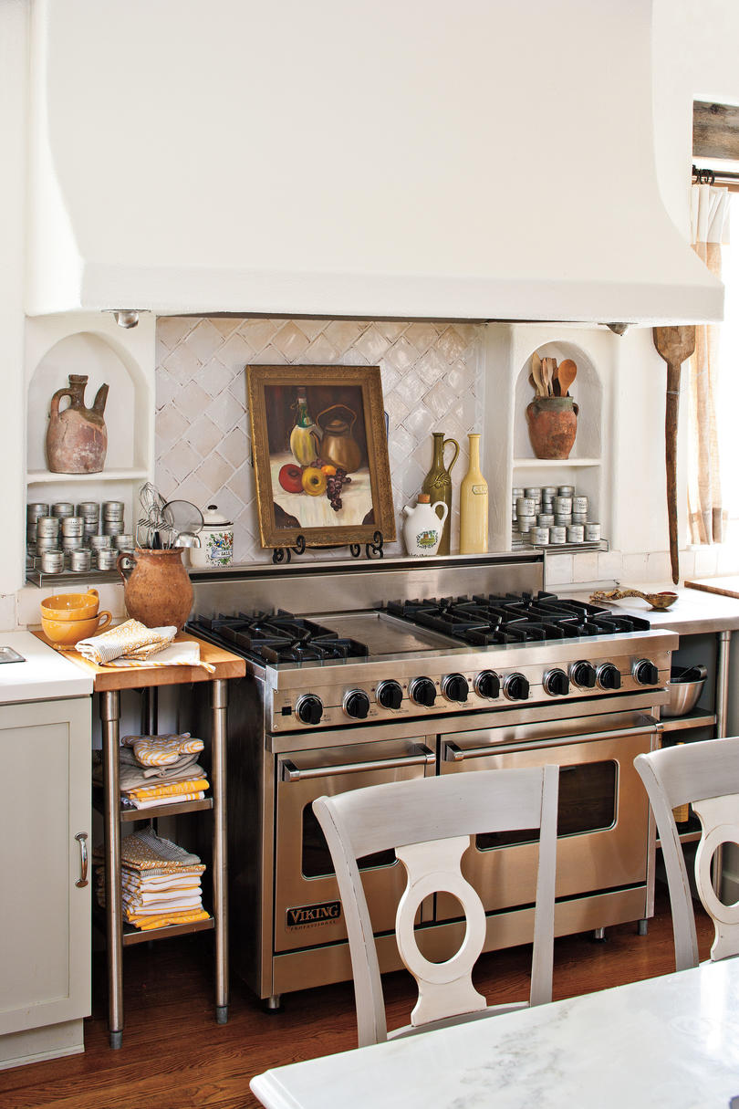 Stove and Cooking Area