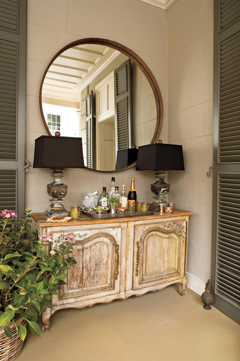 Great Charleston Home Piazza: Add Furniture With Function