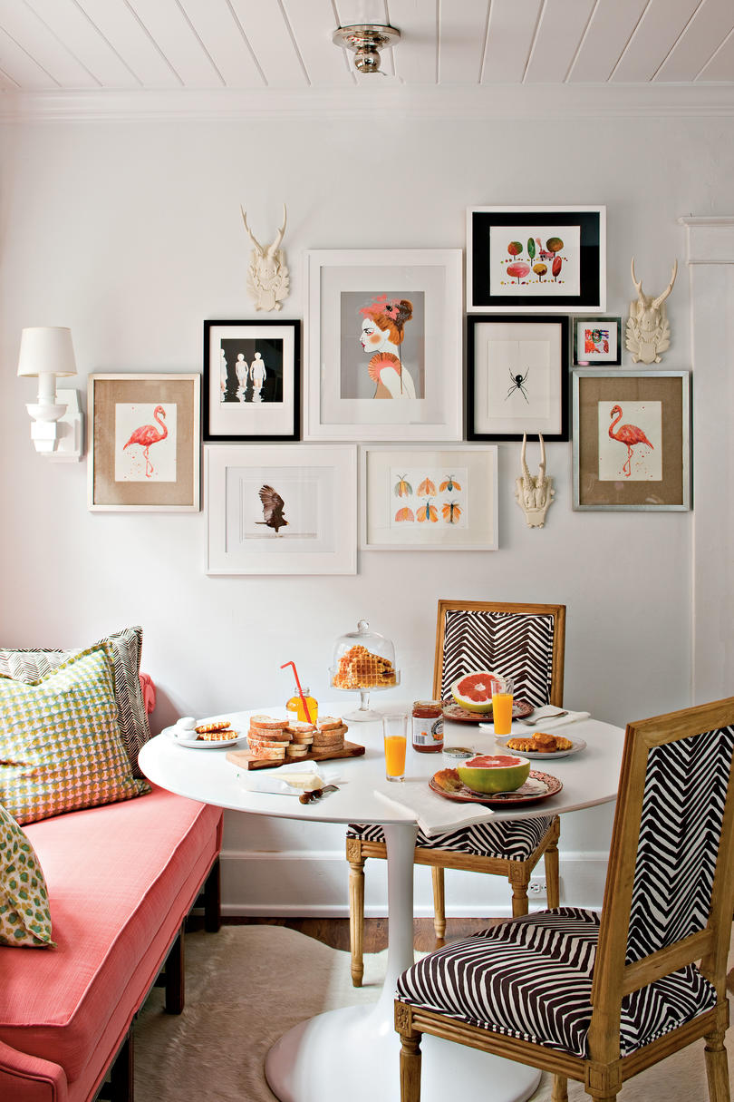 Beautiful Budget Decorating Ideas: Create A Gallery Wall With Art