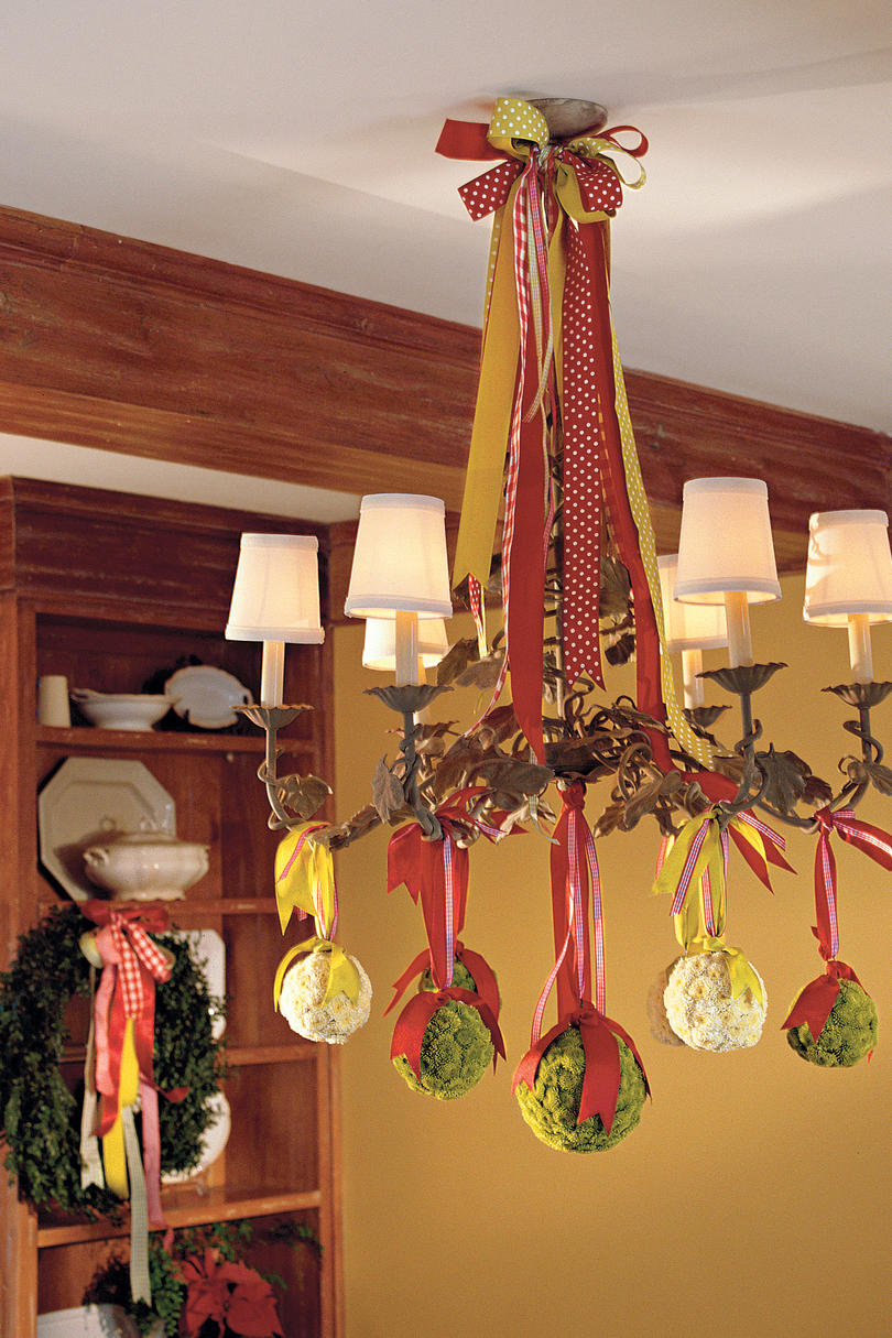 Merry and Bright Chandeliers - Southern Living