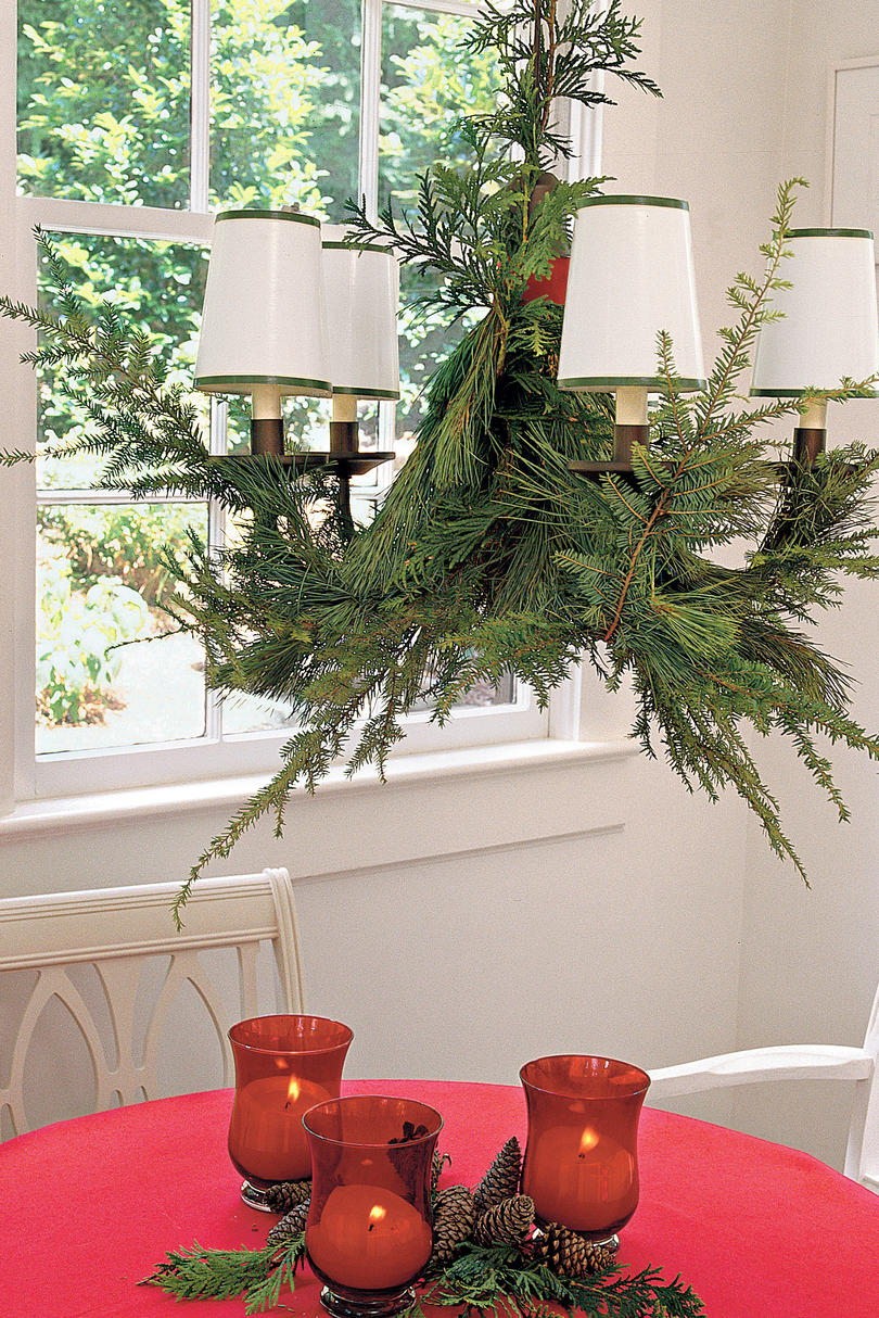 RX_Greenery Chandelier