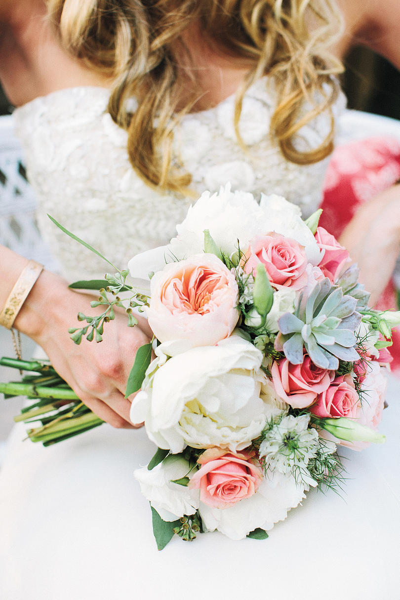 Wedding bouquet southern living floral and succulent bouquet izmirmasajfo
