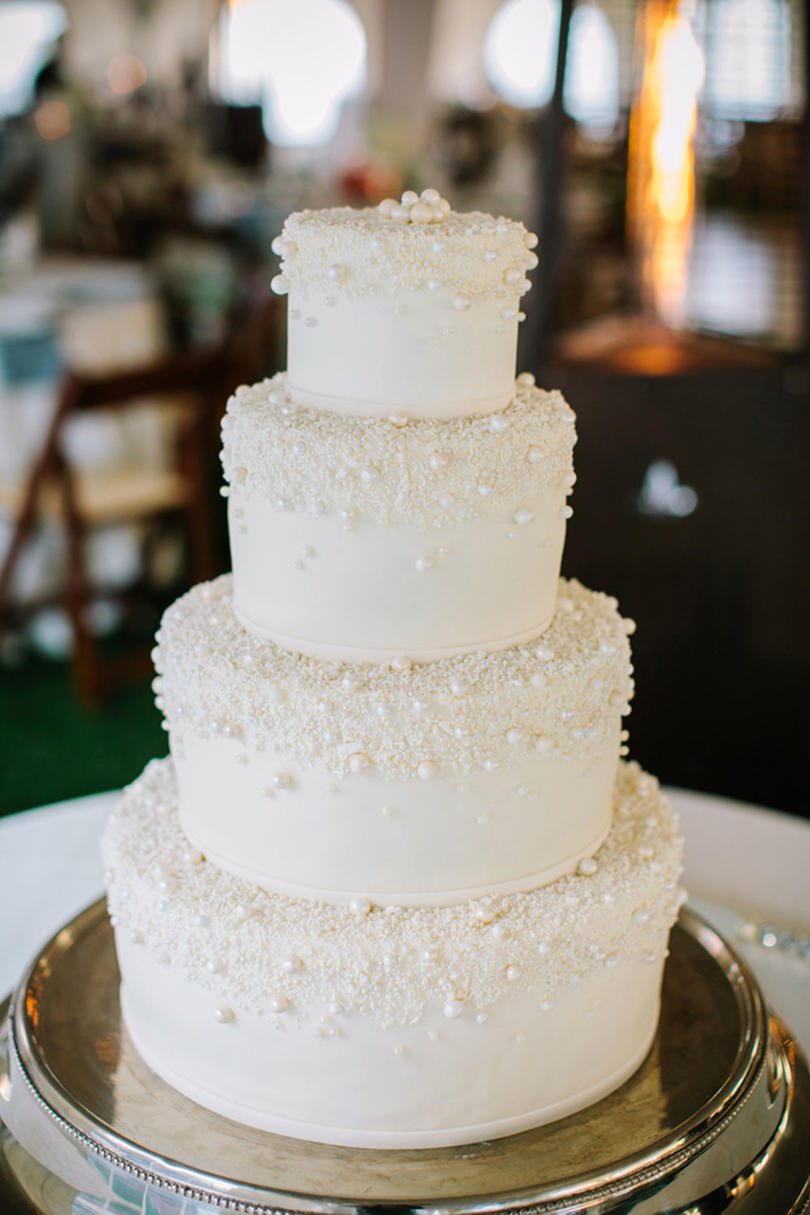 White Wedding Cakes - Southern Living