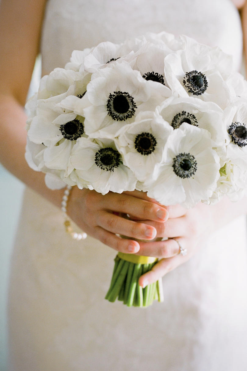 White wedding bouquets southern living white anemones bouquet izmirmasajfo
