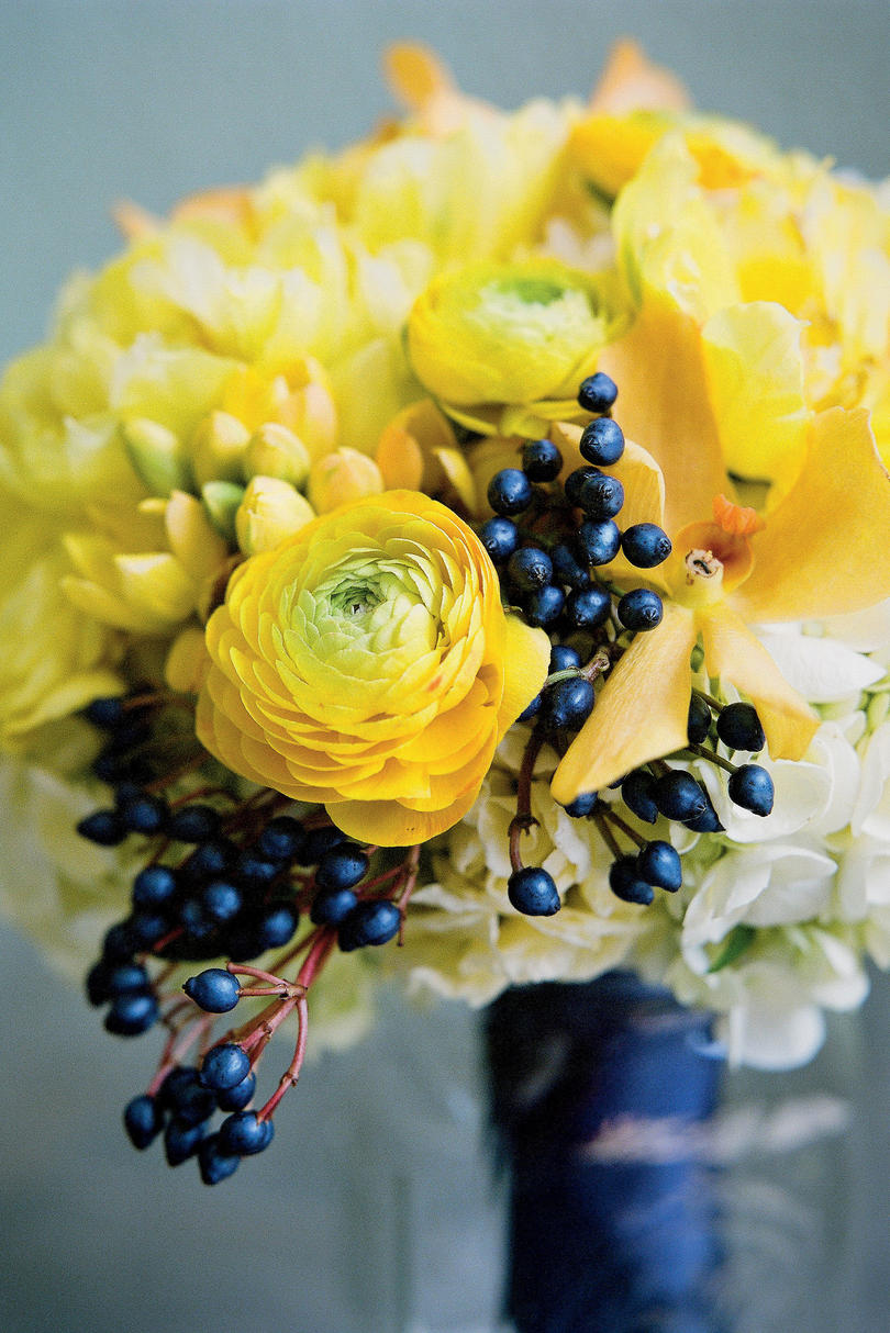 Berries and Flowers Bouquet