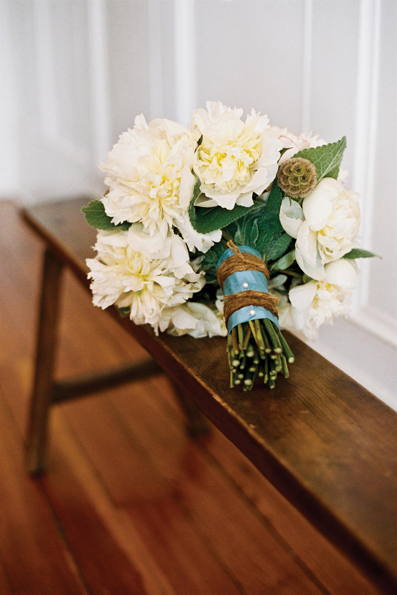 Rustic Ribbon Bouquet