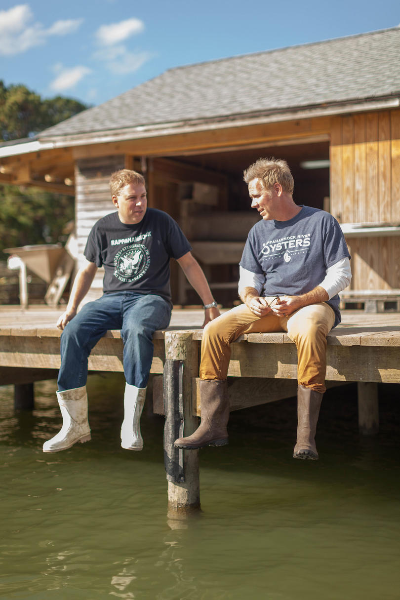 Ryan and Travis Croxton, Rappahannock Oyster Co.