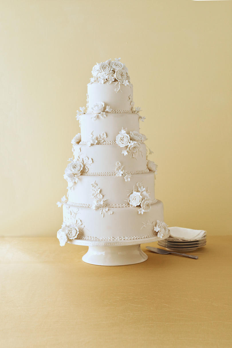 Floral Confection Wedding Cake