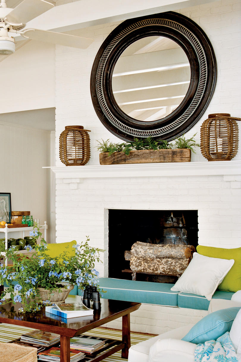 Accommodating Fireplace