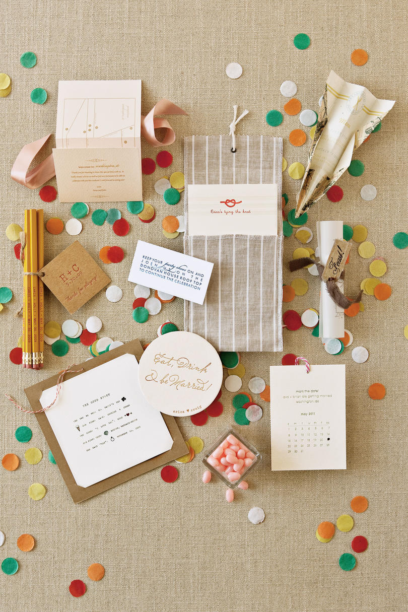 Simple and Playful Invitations