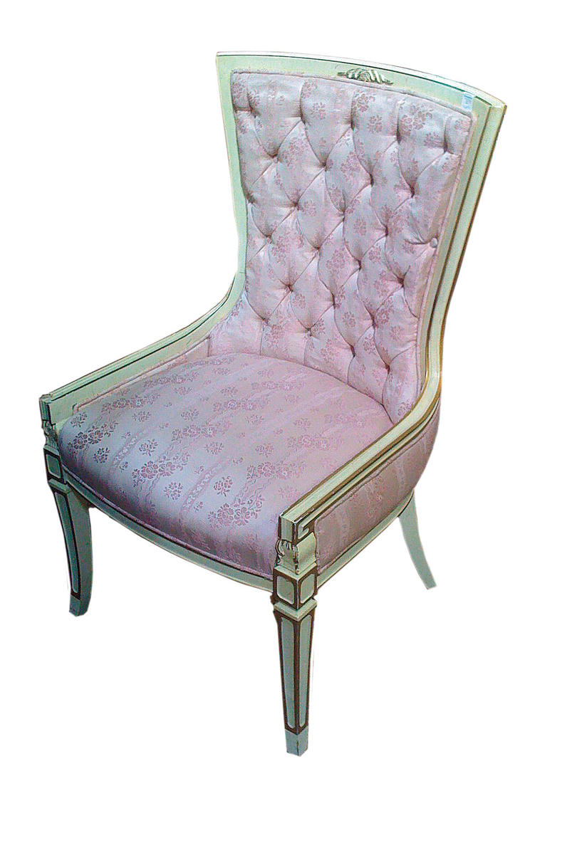 Antique Chair: Before
