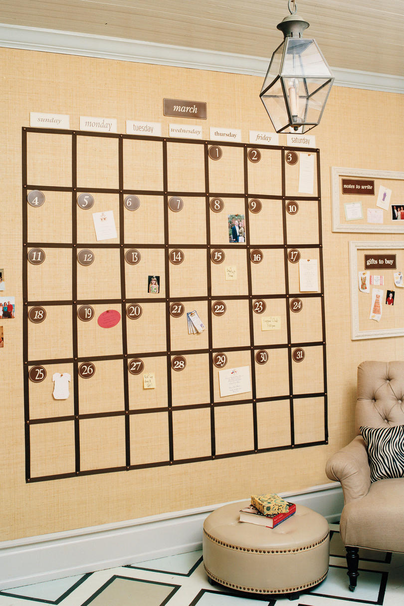 Done in a Day: Wall Calendar - Southern Living