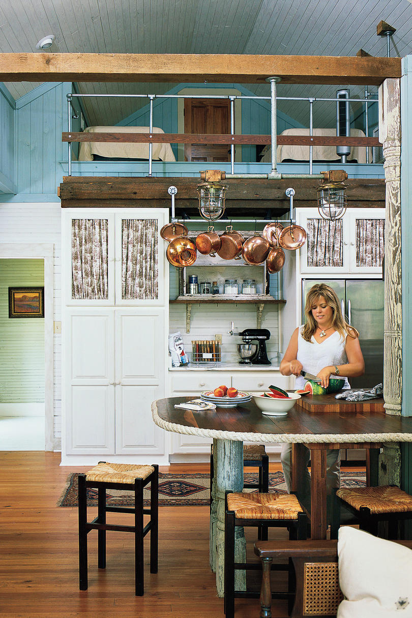 Our best cottage kitchens southern living for Country living kitchen designs
