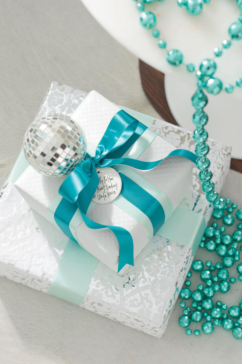 Wrap Gifts to Match Your Décor