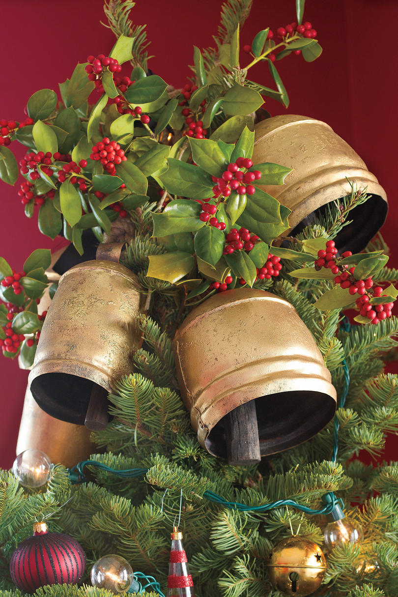 Christmas Decorating Ideas Bell Toppers & 100 Fresh Christmas Decorating Ideas - Southern Living