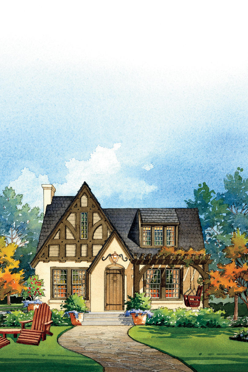 House Makeover Ideas: Tudor Revival-style Home
