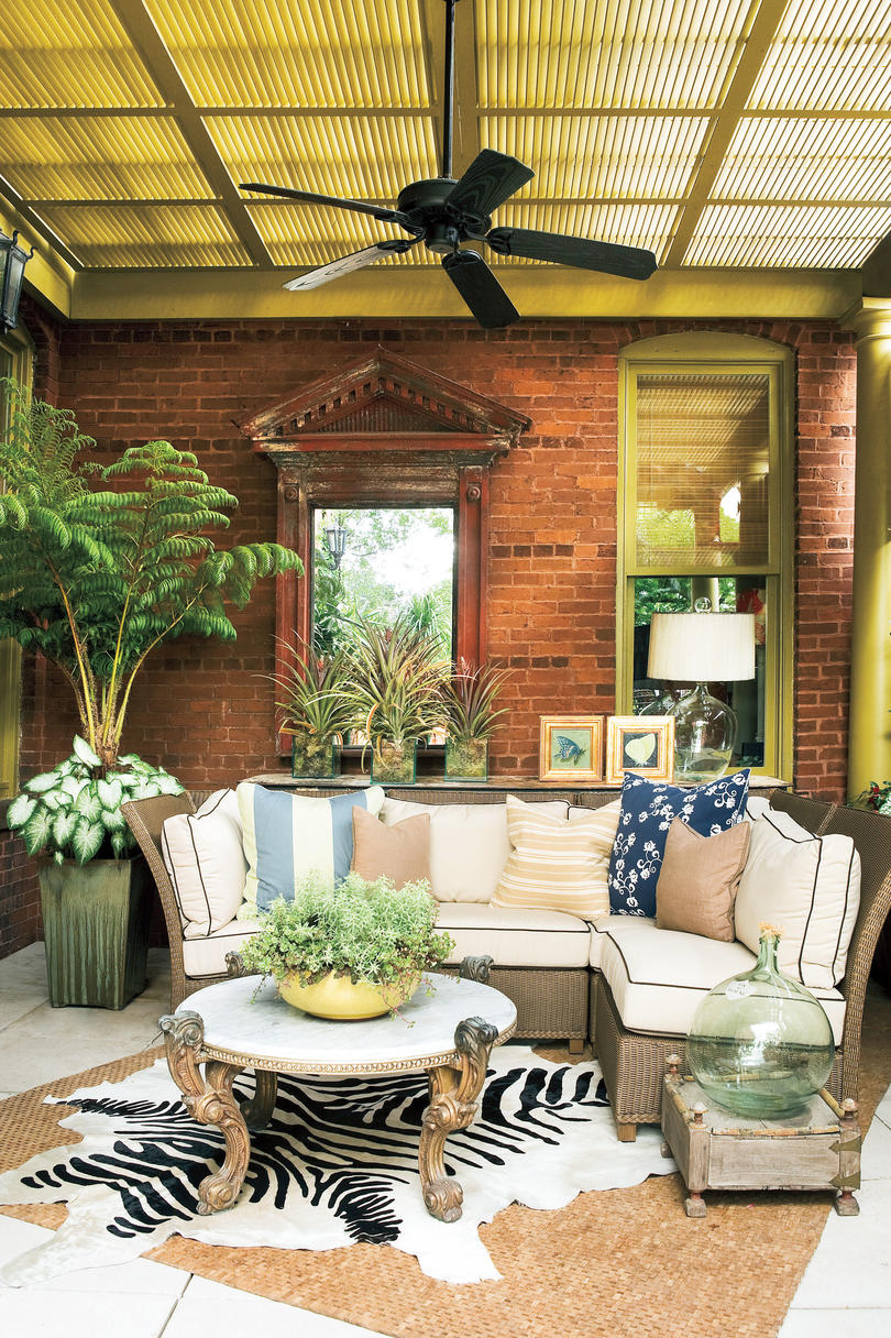 porch and patio design inspiration southern living 35 of 81 photo courtesy clarkson potter a division of random house inc