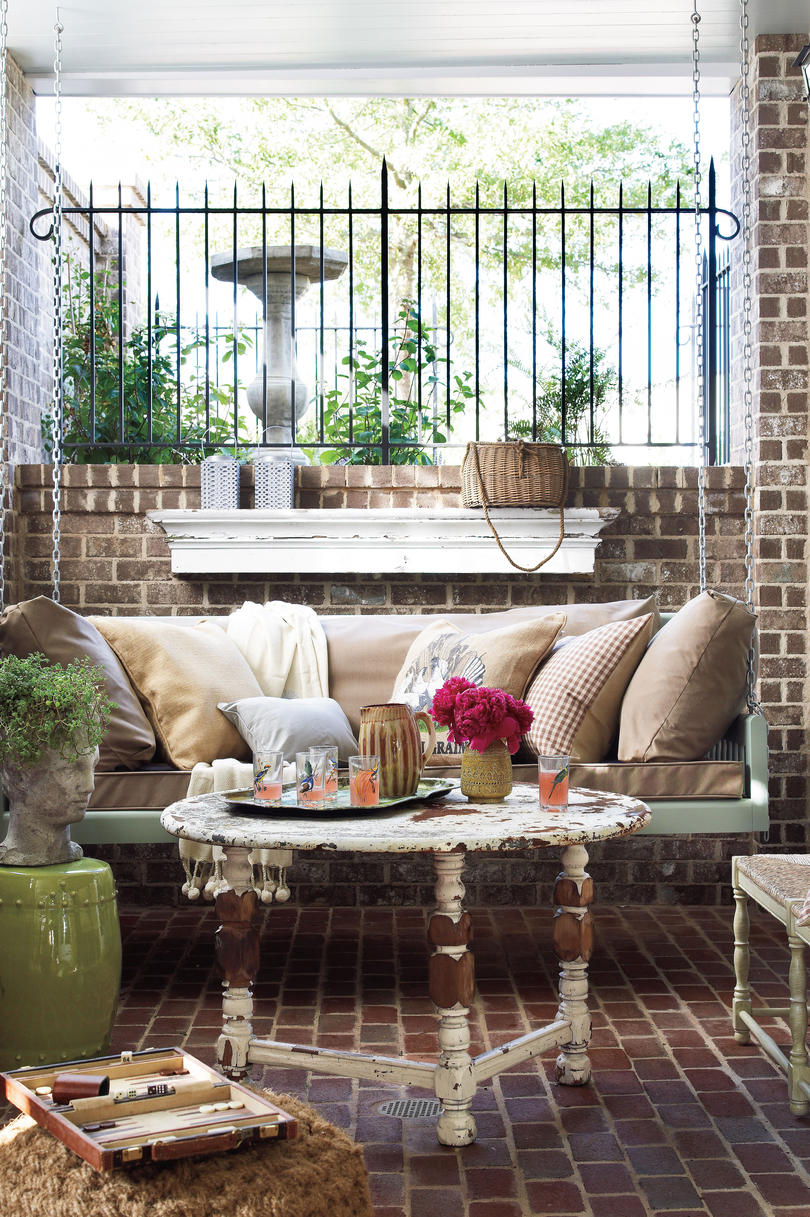 Peaceful Porch Swings Southern Living