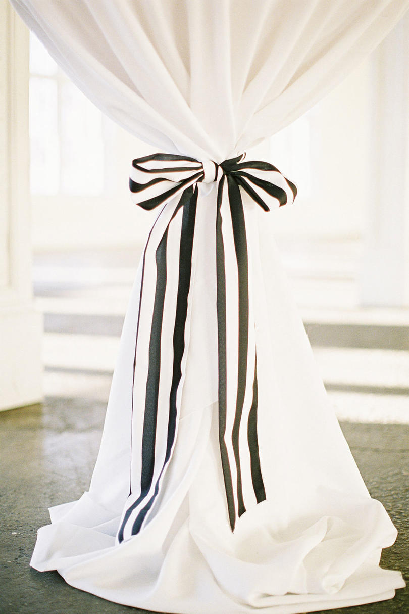 Striped Curtain Tie