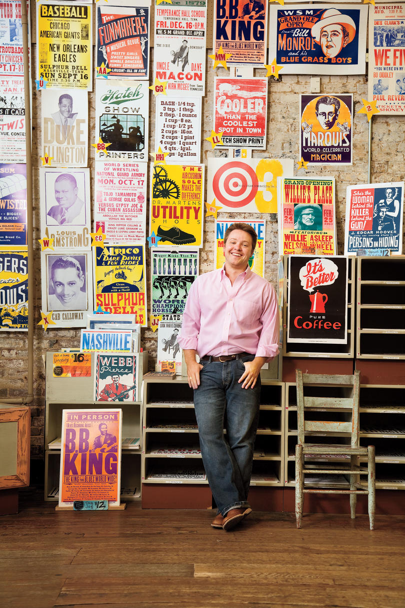 Nashville Shopping: Hatch Show Print